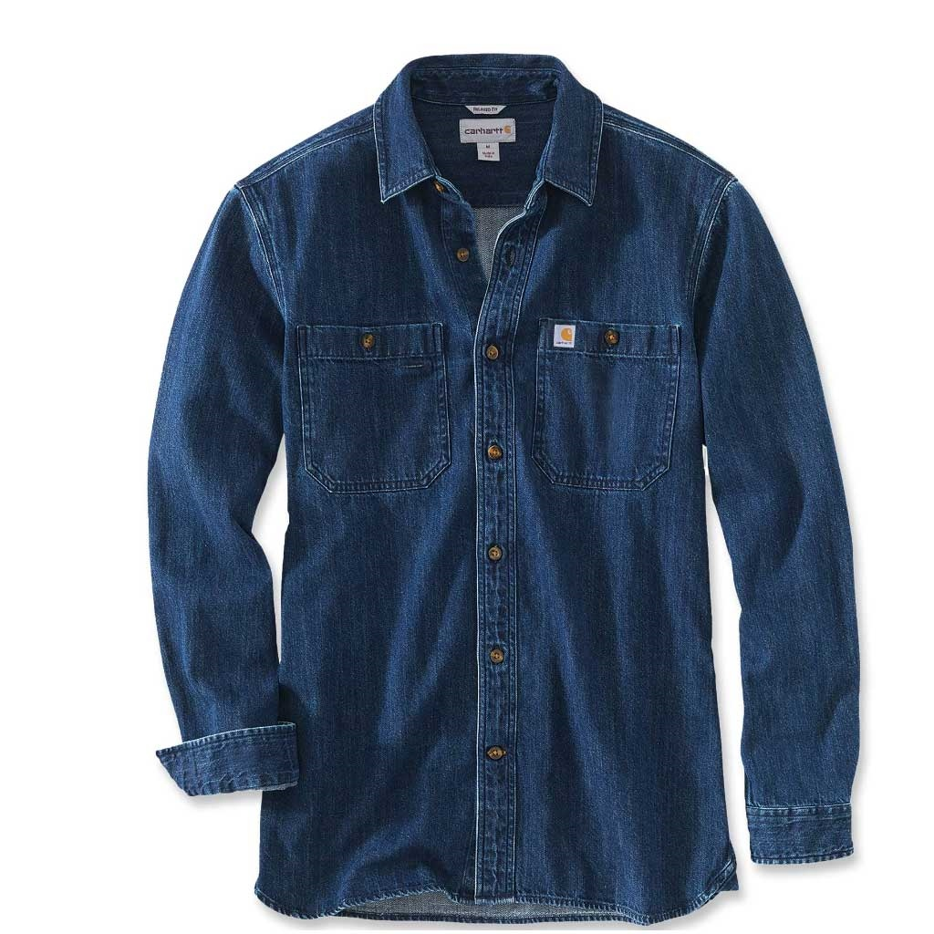 Carhartt Denim Long Sleeve Shirt